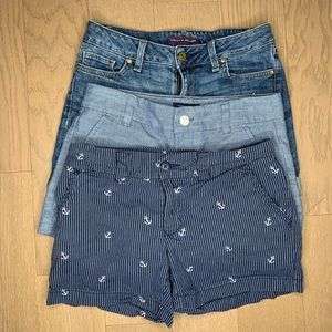 Bundle: 3 pairs of Tommy Hilfiger Shorts
